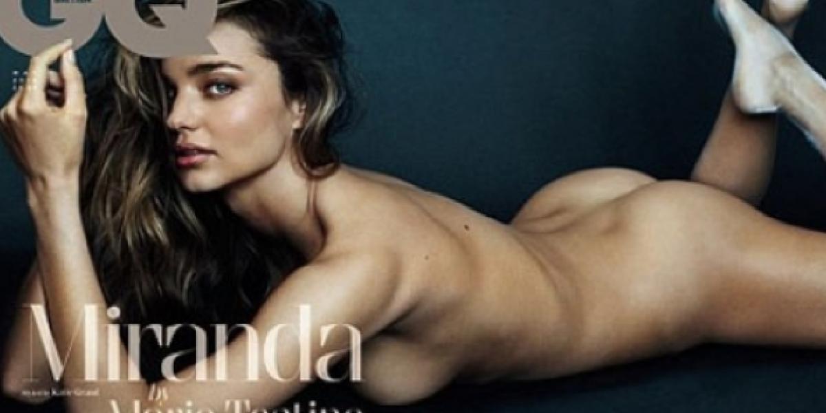 Miranda Kerr habla sobre bisexualidad en revista para la que posó desnuda