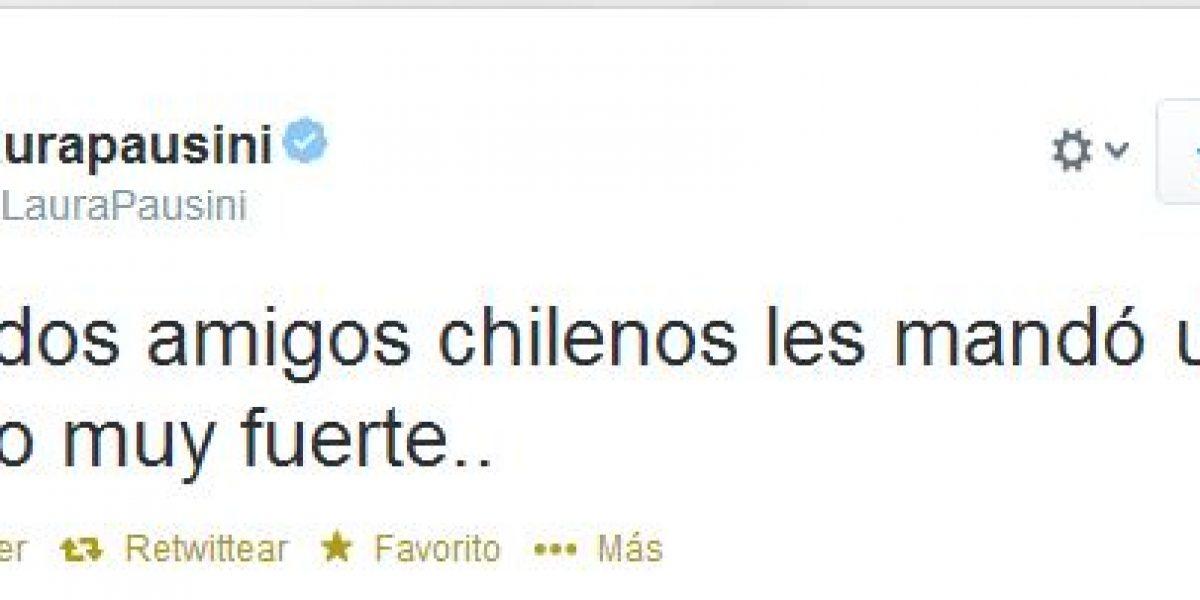 Famosos siguen enviando mensajes de apoyo a Chile por Twitter