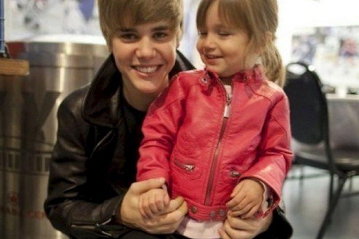 Hermana menor de Justin Bieber, Jasmyn Bieber. Foto:Ioneglobalgrind.com. Imagen Por: