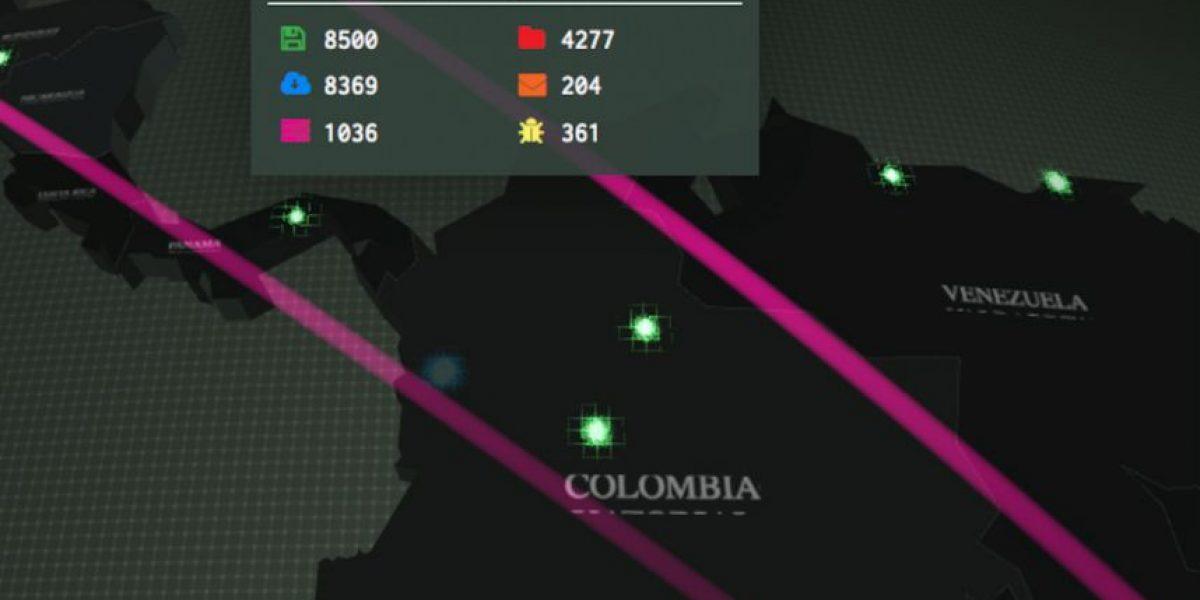Video: Diseñan mapa interactivo para detectar ciber-ataques en todo el mundo