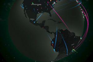 El mapa interactivo está diseñado en 3D Foto:Captura Video. Imagen Por: