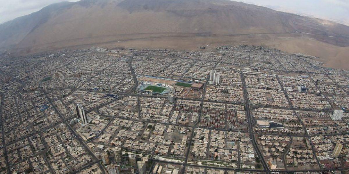 FOTOS: Así se ve desde el aire la zona norte del país después del terremoto