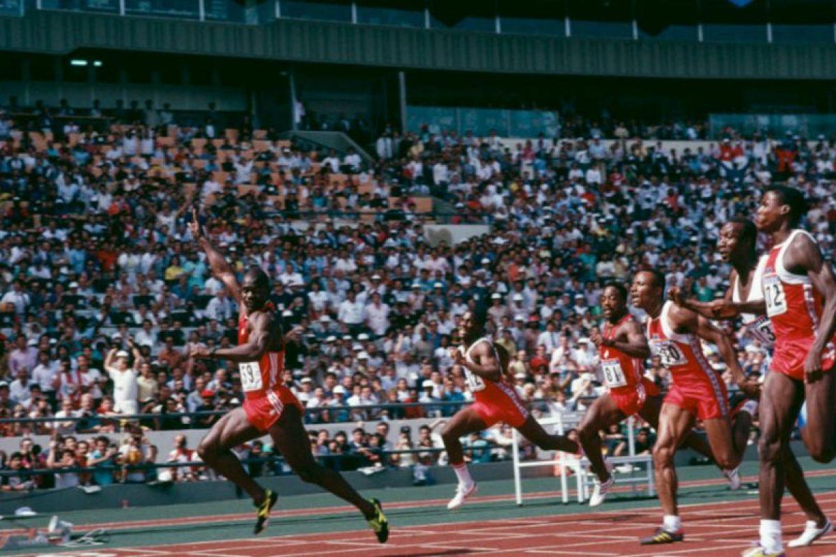Dio positivo en los Juegos Olímpucos de Seúl 1988 Foto:Getty Images. Imagen Por: