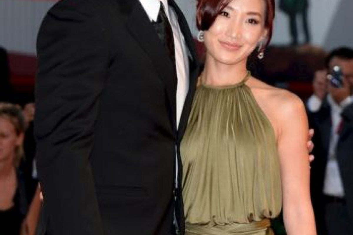 Alice Kim, de 30 años, es la tercera esposa de Nicolas Cage, de 50. Foto:Getty. Imagen Por:
