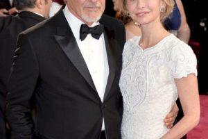 Los actores Harrison Ford y Calista Flockhart tienen 71 y 49 años, respectivamente. Se casaron en 2010. Foto:Getty. Imagen Por: