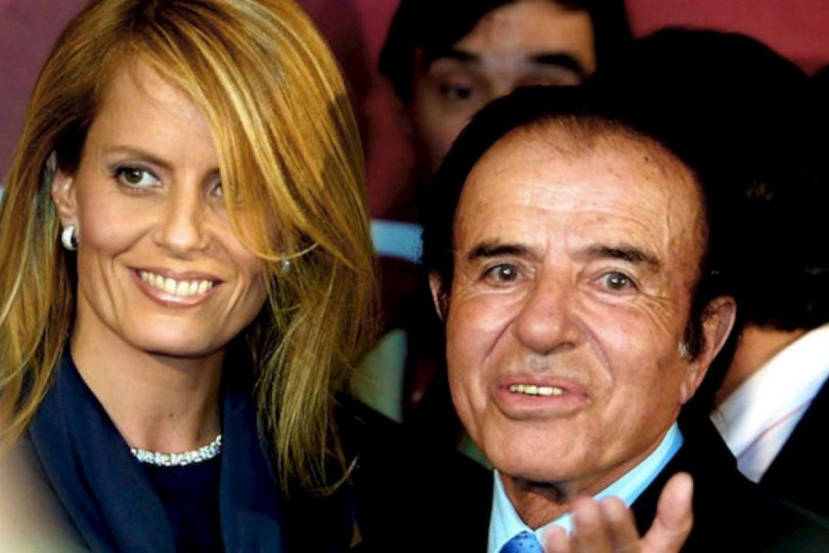 El expresidente de Argentina, ahora de 83 años, estuvo casado con la Miss Universo Cecilia Bolocco, de 48 años, entre 2001 y 2011. Foto:Getty. Imagen Por: