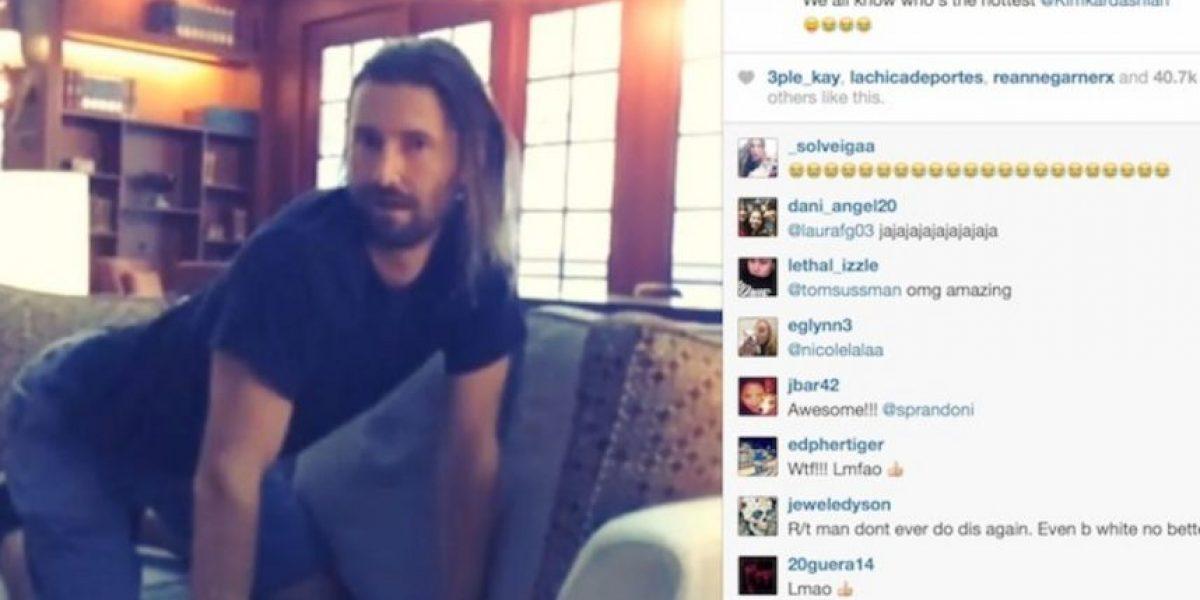 Fotos: Hermanastro de Kim Kardashian se burla de ella en Instagram