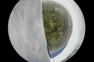 El lago oculto en Encélado podría ser del tamaño del lago Superior, de Estados Unidos Foto:AP. Imagen Por: