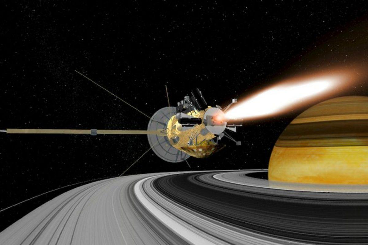 La sonda Cassini es un proyecto de la NASA y de la Agencia Espacial Europea Foto:Getty Images. Imagen Por: