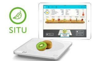 SITU es una báscula inteligente que mide el peso, las calorias y los nutrientes de los alimentos, ¡en gramos! Foto:Twitter. Imagen Por: