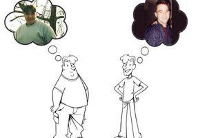 Durante su adolescencia Michael Grothaus lucho por salir del sobrepeso, ya que a sus 17 años llegó a pesar 131 kilos. Foto:Kickstarter. Imagen Por: