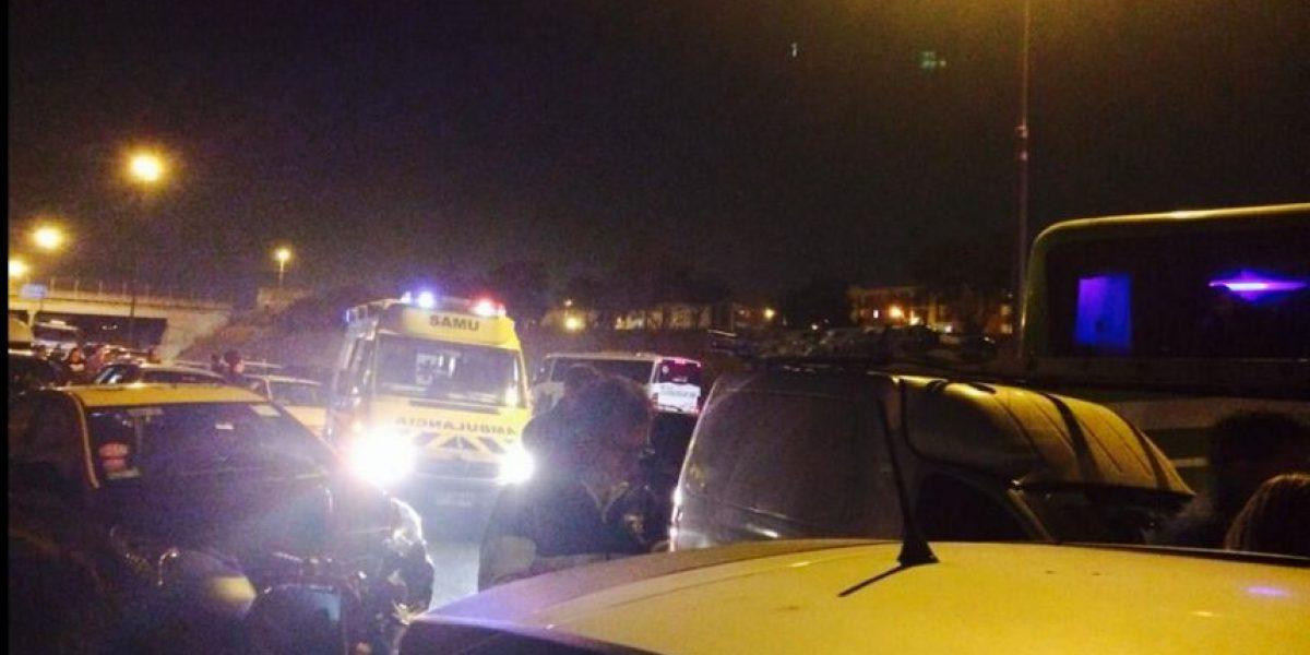 Accidente en la Autopista del Sol deja dos muertos y nueve heridos