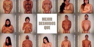 #MejorDesnudosQue: Venezolanos se sacan la ropa en Twitter contra Maduro