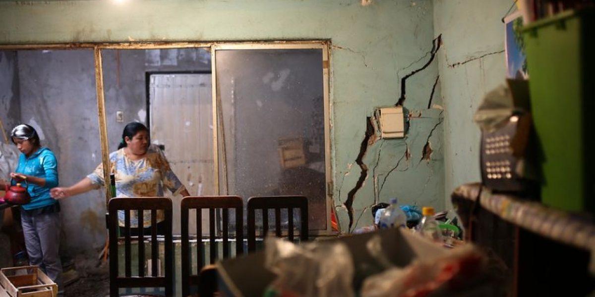 Son 9.547 viviendas las que presentan daños por terremoto en el norte del país