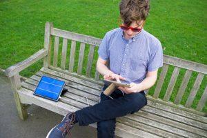 Solartab: ideal para las personas que constatemente viajan Foto:Kickstarter. Imagen Por: