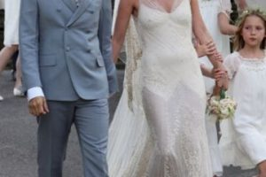 Kate Moss y Jamie Hince Foto:Getty. Imagen Por:
