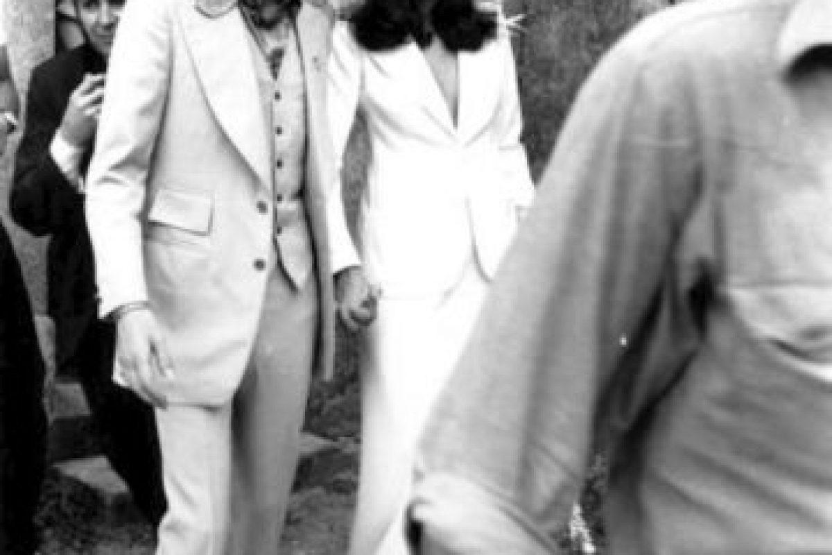 Mick Jagger y su esposa Bianca Foto:Getty. Imagen Por:
