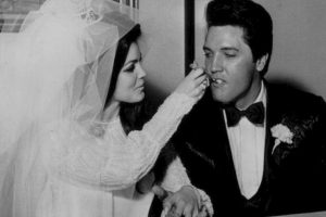 Elvis Presley y Priscilla Beaulieu Foto:Getty. Imagen Por: