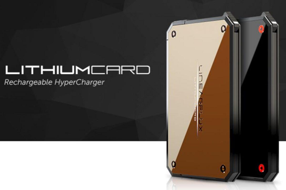 Lithium Card: En unos meses estará a la venta en Estados Unidos Foto:Indiegogo. Imagen Por:
