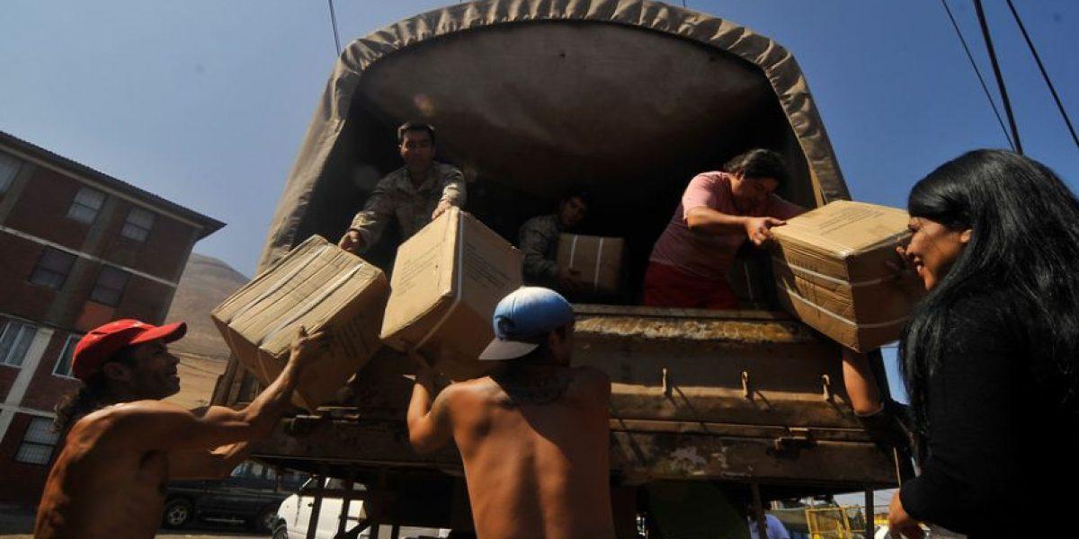 Infantes de Marina comienzan entrega de ayuda a damnificados por terremoto