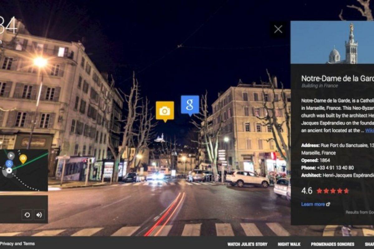 Tarjetas con información se despliegan en la pantalla. Foto:Google. Imagen Por: