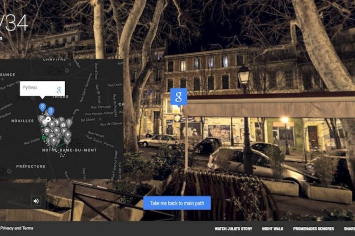 El mapa a punto de cumplir el recorrido. Foto:Google. Imagen Por: