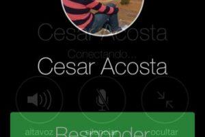 """El otro usuario debera pulsar """"Responder"""". Foto:Facebook. Imagen Por:"""