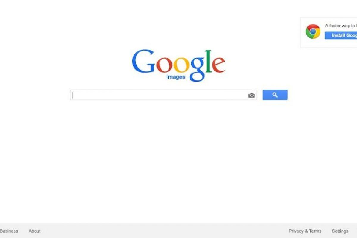 Guarden su foto en la computadora y visiten el sitio http://www.google.com/imghp Foto:Screengrab. Imagen Por: