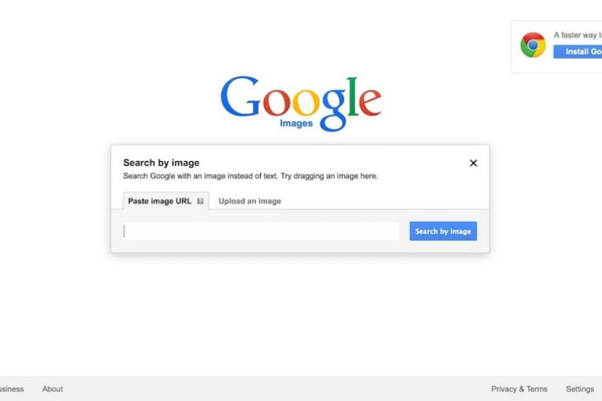Seleccionen Upload an Image Foto:Screengrab. Imagen Por: