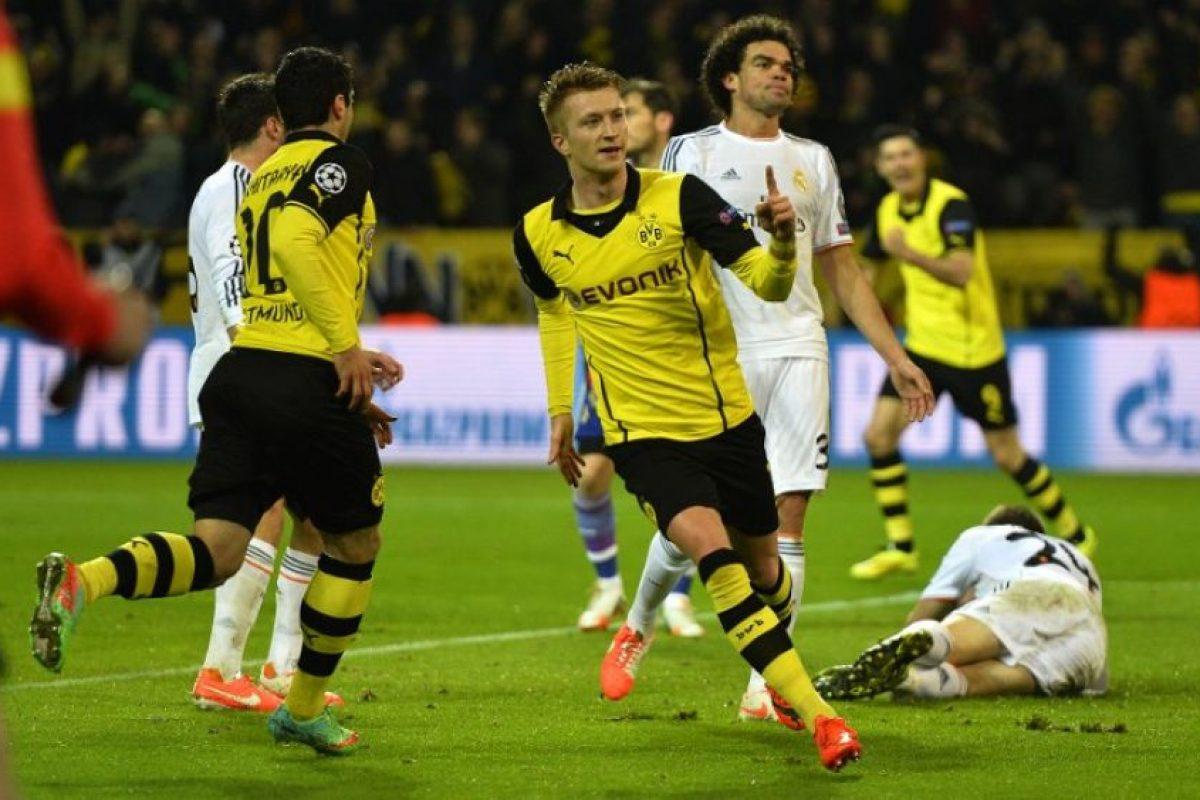 Reus, la figura del Borussia Dortmund. Foto:AFP. Imagen Por: