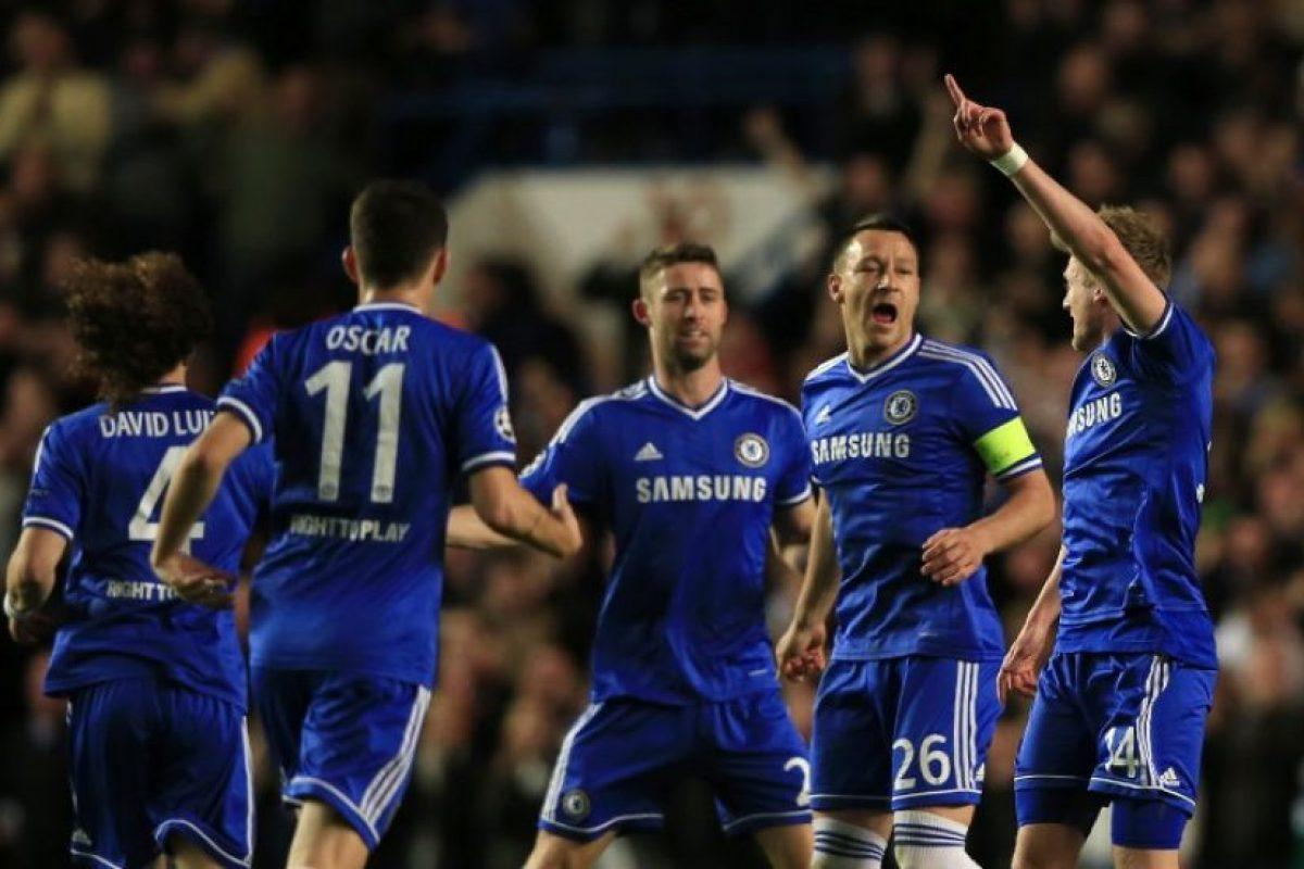 El Chelsea anotó los goles que necesitaba. Foto:AFP. Imagen Por: