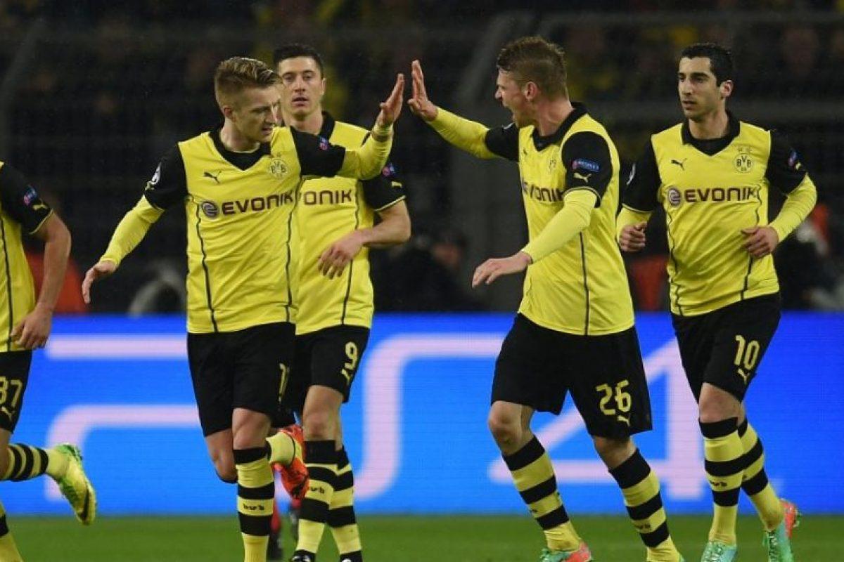 El Borussia se quedó con las ganas de avanzar a semifinales. Foto:AFP. Imagen Por: