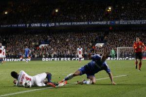 El partido fue intenso durante los 90 minutos. Foto:AFP. Imagen Por: