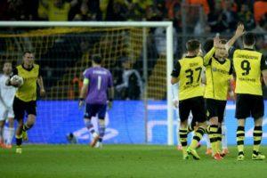 Reus celebrando. El Borussia estaba cerca. Foto:AFP. Imagen Por: