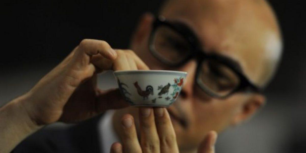 Una minúscula taza china de porcelana alcanza los 36 millones de dólares