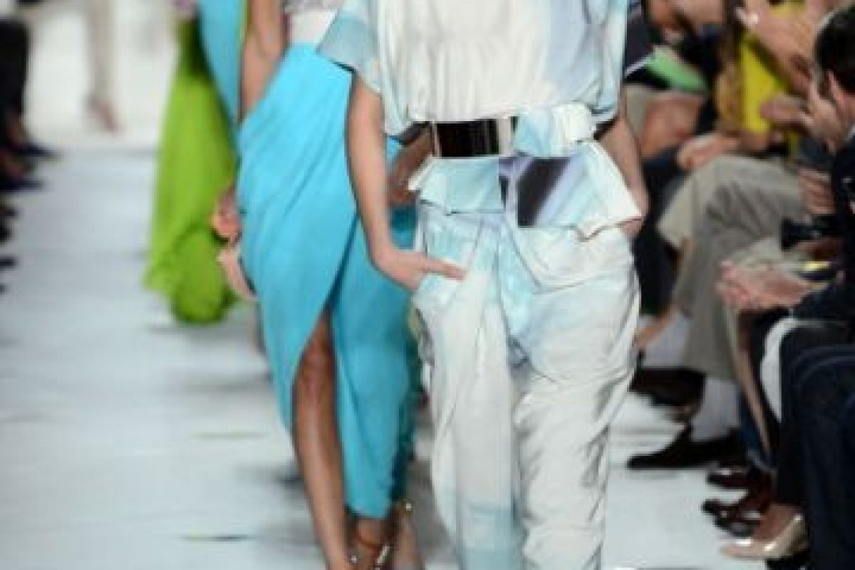 Pasarela de modas Diane Von Furstenberg Spring 2013 Foto:Getty. Imagen Por: