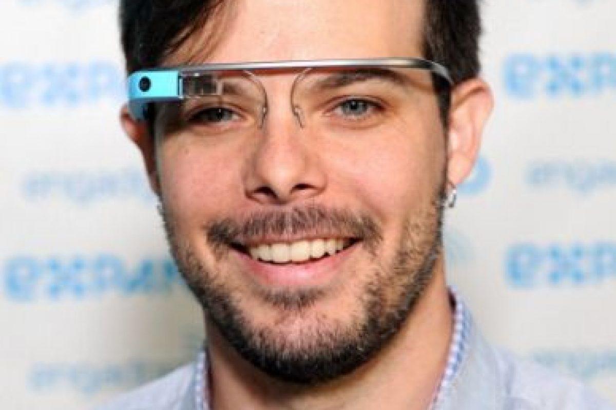 Timothy Jordan, desarrollador de Google Glass Foto:Getty. Imagen Por: