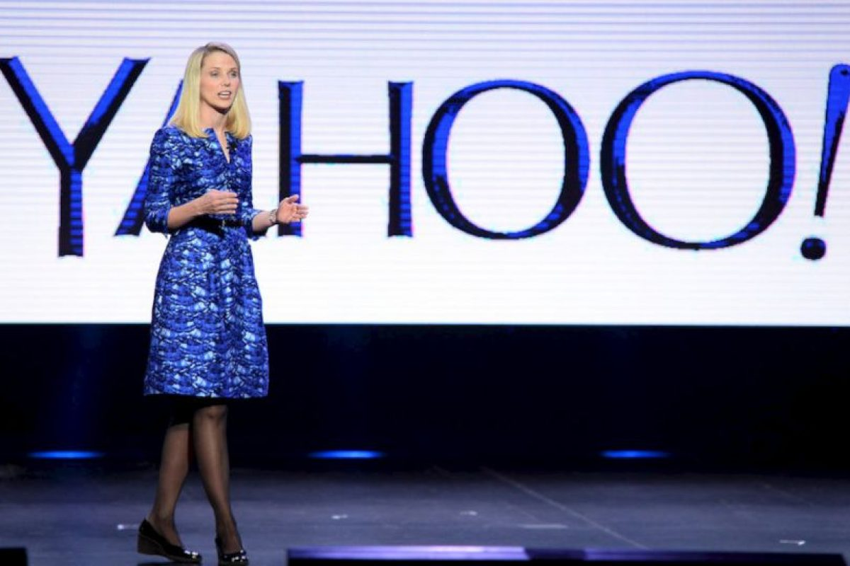 Marissa Meyer, CEO de Yahoo! Foto: getty images. Imagen Por: