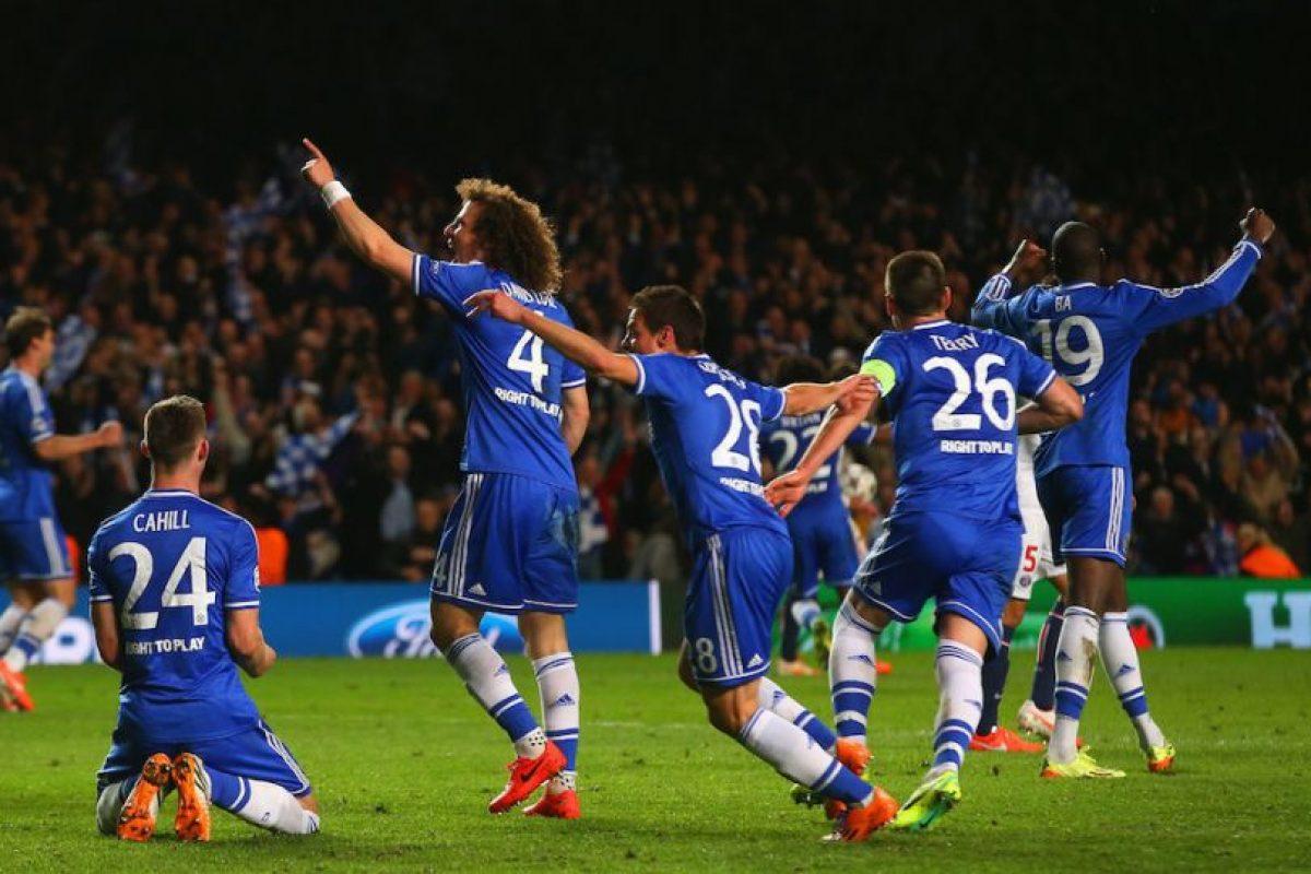 Los jugadores del Chelsea festejando. Foto:getty images. Imagen Por: