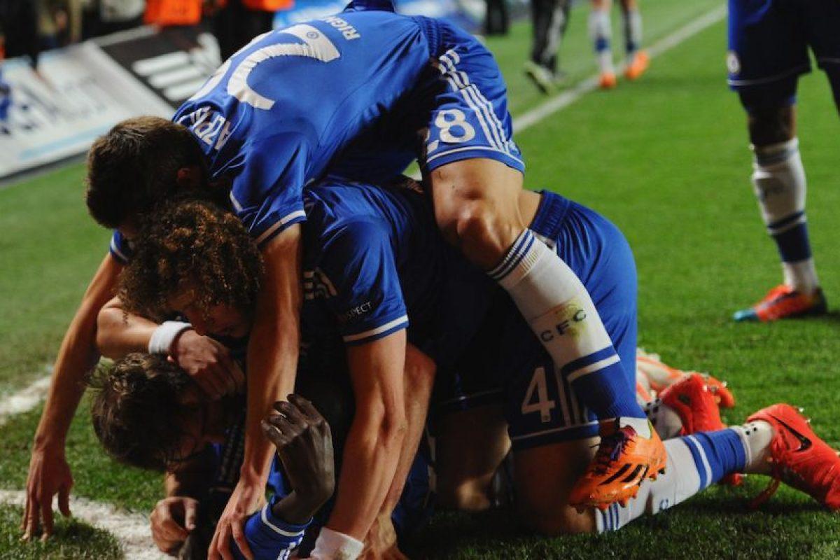 Los del Chelsea no se cansaron de festejar. Foto:getty images. Imagen Por: