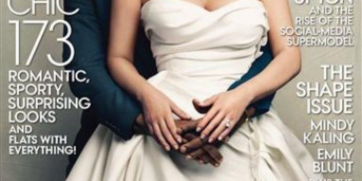 Portada de Kim y Kanye podría ser una de las más vendidas de Vogue