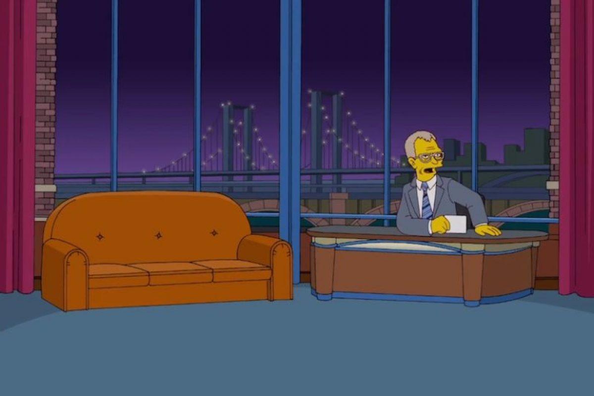 David Letterman no sabe qué pasa con sus invitados. Foto:Fox. Imagen Por: