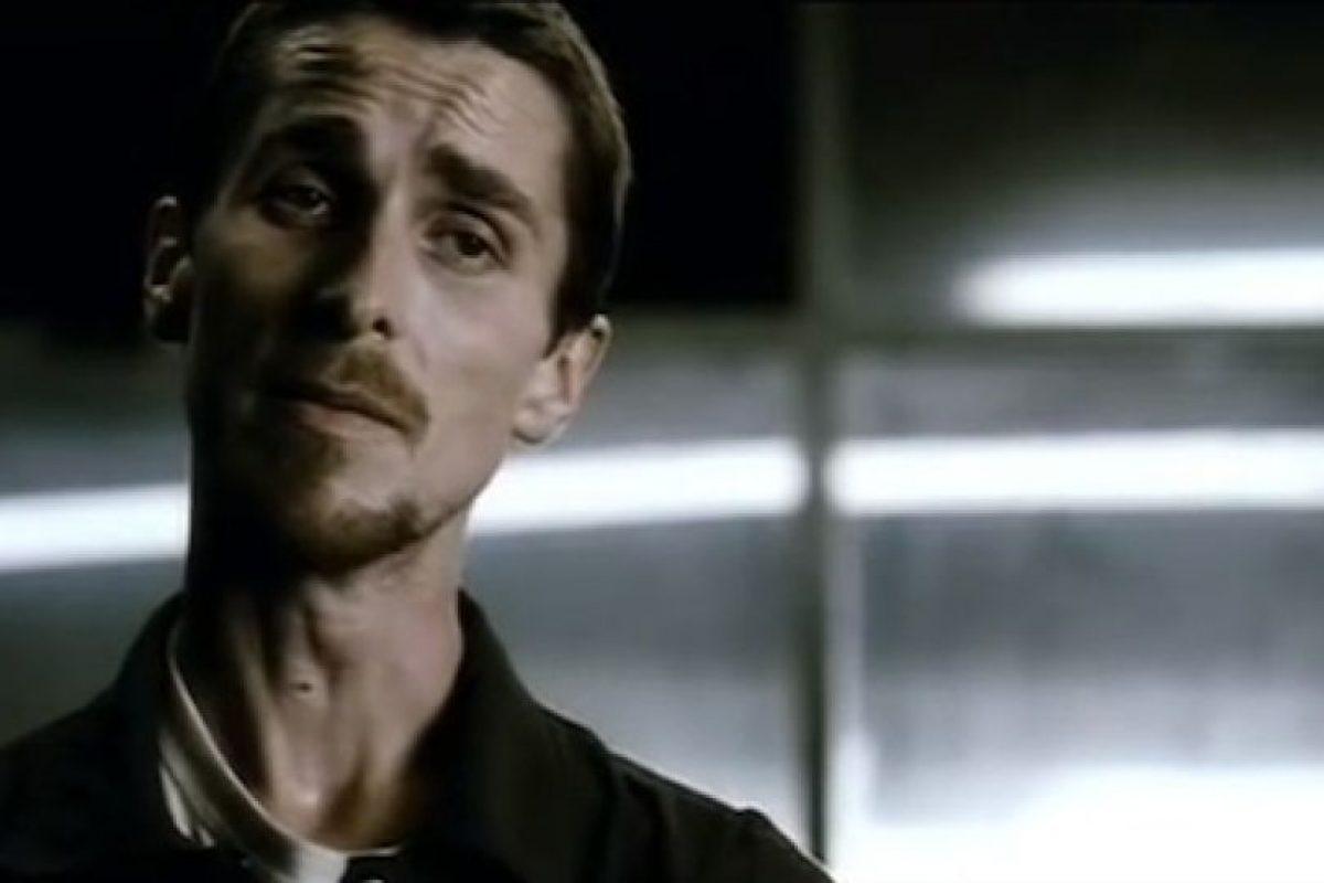 Christian Bale Foto:Captura de pantalla / Youtube / Forever Cinematic Trailers / The Machinist. Imagen Por: