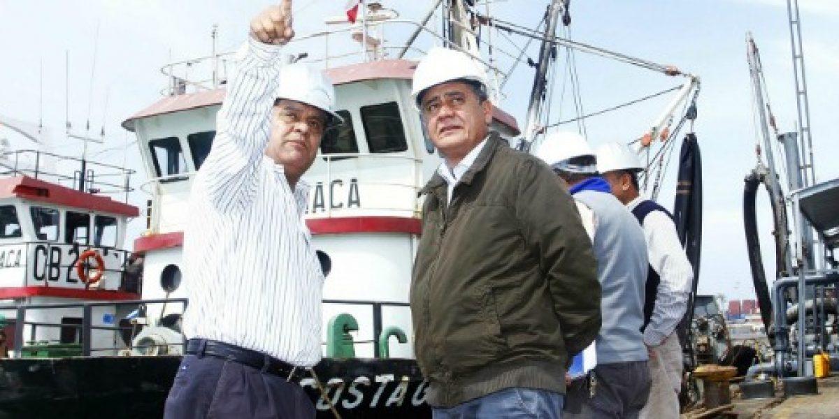 Subsecretario de Pesca visita plantas de industrias pesqueras de Iquique