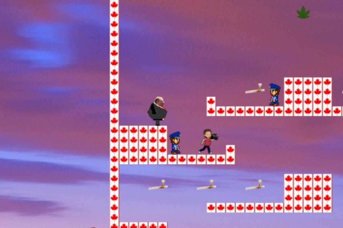 Rob Ford: The Game es un videojuego de plataforma Foto:Captura de pantalla / robfordthegame.com. Imagen Por: