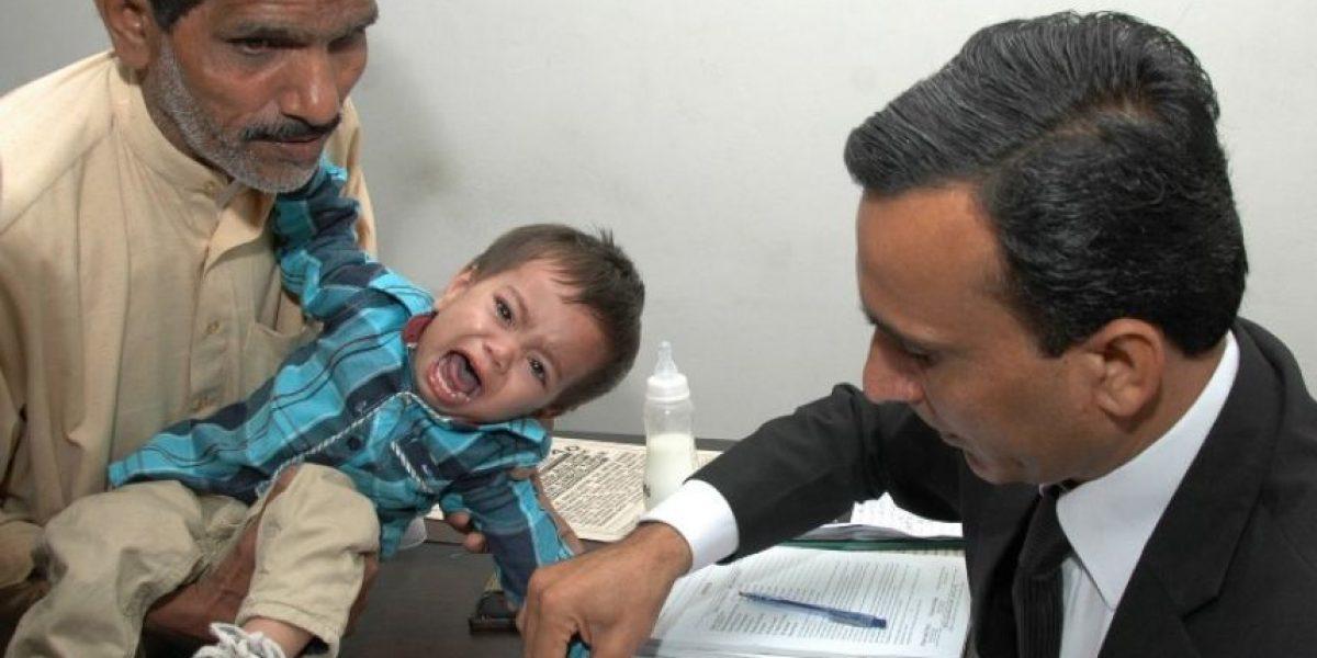 Bebé de 9 meses es acusado de intento de homicidio en Paquistán