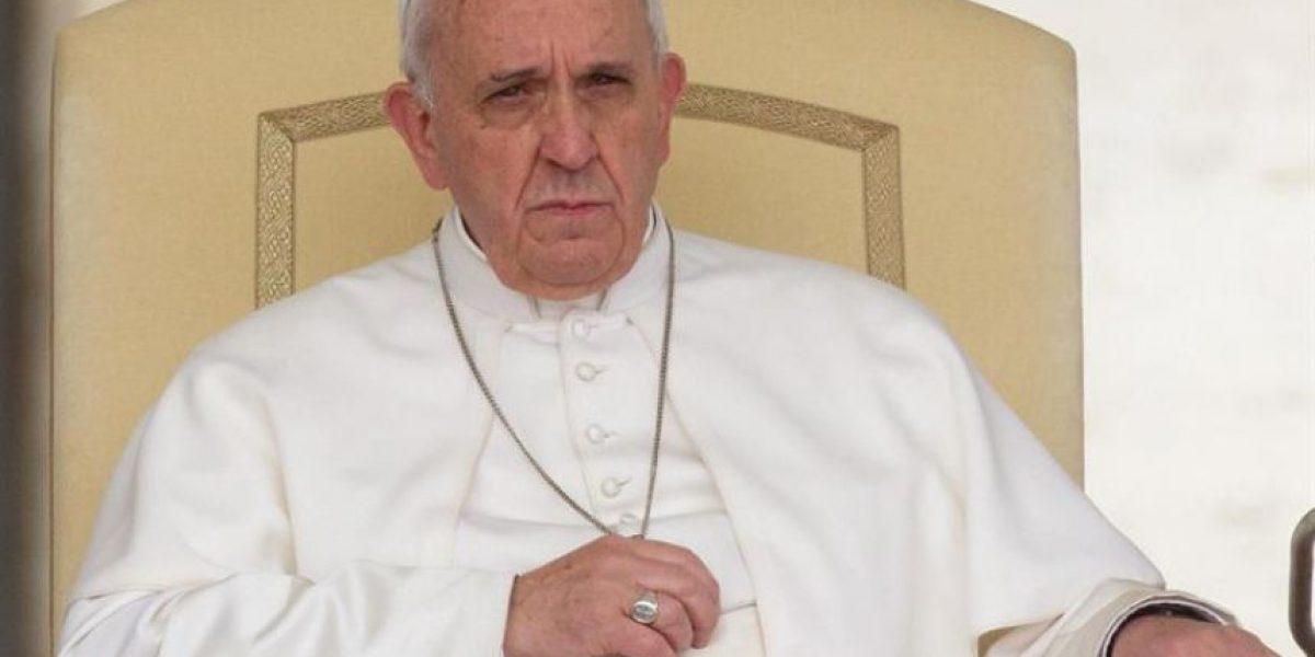 El Papa, dolido