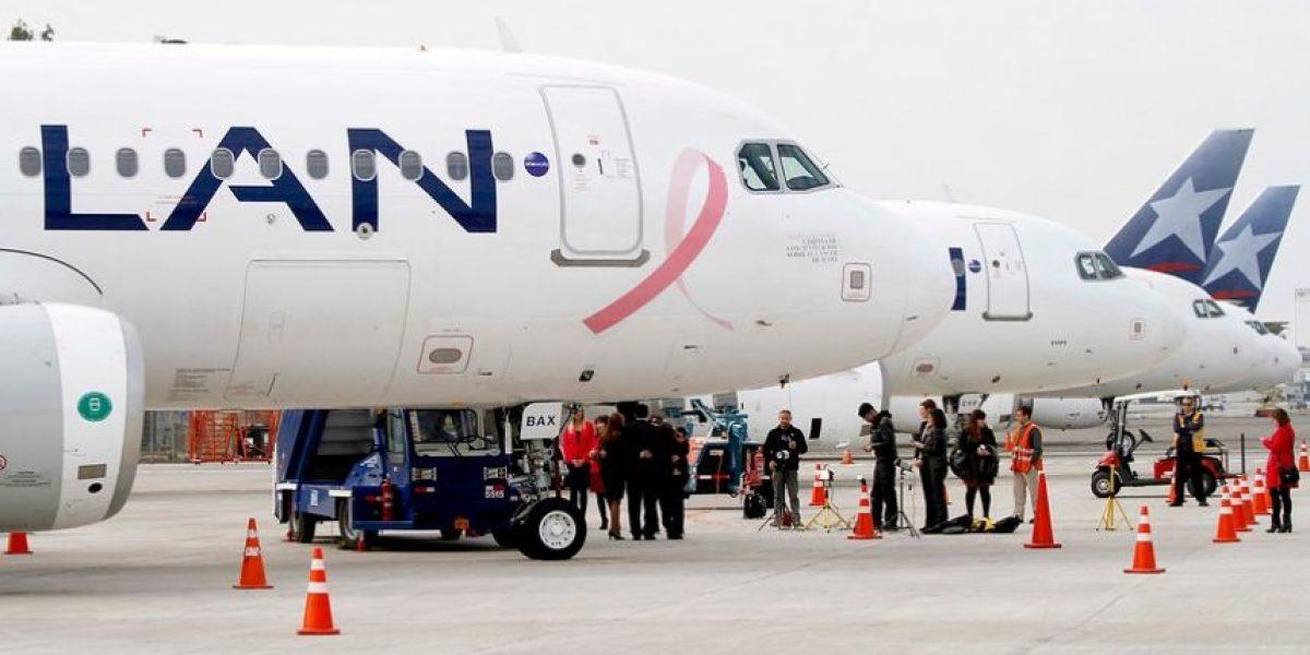 LAN cancela vuelos desde y hacia Argentina