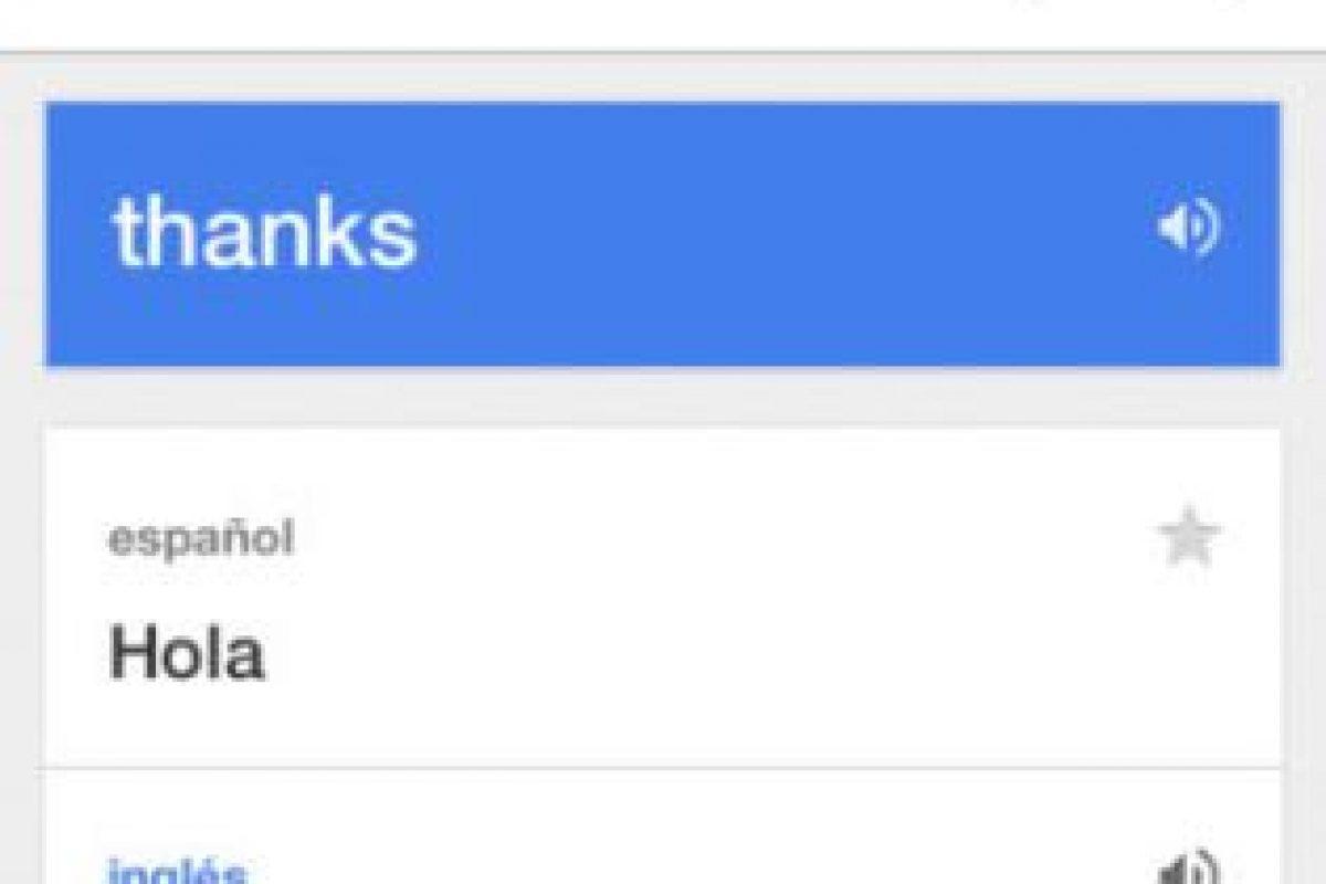 Traductor de Google Foto:Google Inc.. Imagen Por: