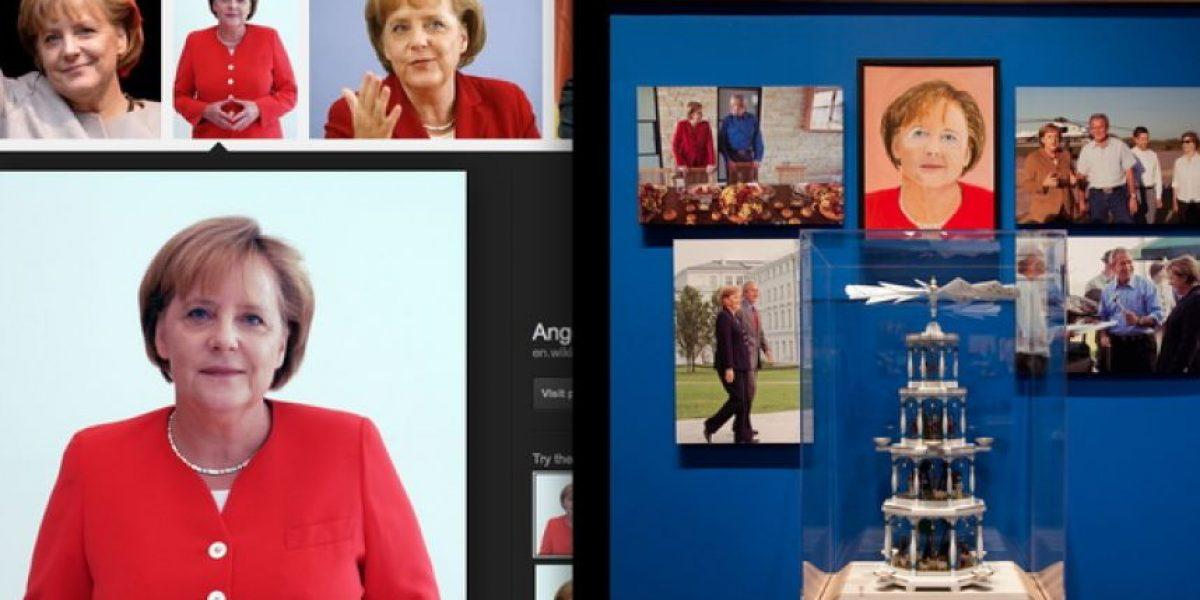 El truco de las pinturas de Bush: Las copió de fotos de Google